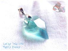 画像1: 📜 コード選択式 宝石質 結晶 ブルー グリーン フローライト ネックレス No.3390 (1)