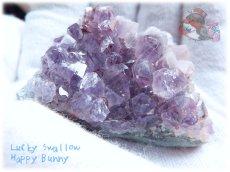 画像1: 希少 特殊 カナダ産 アメジストクラスター 標本 原石(別名:アメシスト 紫水晶) No.3409 (1)