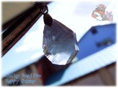 画像2: 希少品 多結晶 マダガスカル産 結晶 セレスタイト ネックレス ペンダント コード選択式(別名 天青石 celestite ) No.3456 (2)