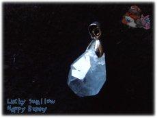 画像5: 希少品 多結晶 マダガスカル産 結晶 セレスタイト ネックレス ペンダント コード選択式(別名 天青石 celestite ) No.3456 (5)