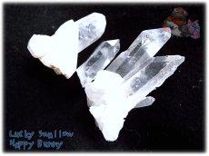 画像2: 天然水晶クラスター 標本 原石(別名:クォーツ quartz 石英) No.3464 (2)
