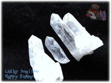画像5: 天然水晶クラスター 標本 原石(別名:クォーツ quartz 石英) No.3464 (5)