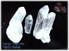 画像4: 天然水晶クラスター 標本 原石(別名:クォーツ quartz 石英) No.3464 (4)
