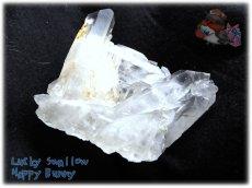 画像4: 天然水晶クラスター 標本 原石(別名:クォーツ quartz 石英) No.3465 (4)