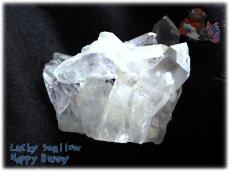 画像2: 天然水晶クラスター 標本 原石(別名:クォーツ quartz 石英) No.3465 (2)