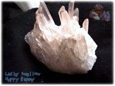 画像4: 天然水晶クラスター 標本 原石(別名:クォーツ quartz 石英) No.3467 (4)