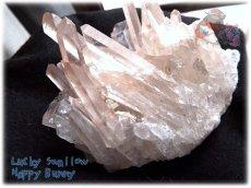 画像1: 天然水晶クラスター 標本 原石(別名:クォーツ quartz 石英) No.3467 (1)