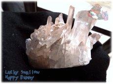 画像3: 天然水晶クラスター 標本 原石(別名:クォーツ quartz 石英) No.3467 (3)