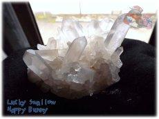 画像4: 天然水晶クラスター 標本 原石(別名:クォーツ quartz 石英) No.3469 (4)