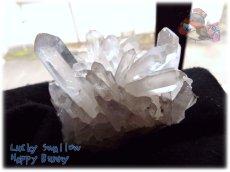 画像2: 天然水晶クラスター 標本 原石(別名:クォーツ quartz 石英) No.3469 (2)