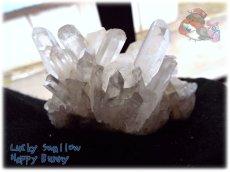 画像3: 天然水晶クラスター 標本 原石(別名:クォーツ quartz 石英) No.3469 (3)