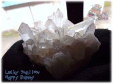 画像5: 天然水晶クラスター 標本 原石(別名:クォーツ quartz 石英) No.3469 (5)