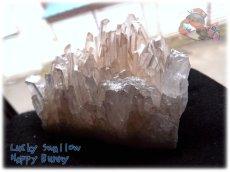 画像4: 天然水晶クラスター 標本 原石(別名:クォーツ quartz 石英) No.3471 (4)