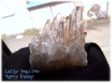 画像3: 天然水晶クラスター 標本 原石(別名:クォーツ quartz 石英) No.3471 (3)