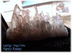 画像2: 天然水晶クラスター 標本 原石(別名:クォーツ quartz 石英) No.3471 (2)