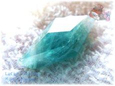 """画像1: """" 永久凍土 """" スカルドゥ地域 パキスタン産  Skardu Pakistan  希少 ブルーグリーンフローライト ノンホールルース No.3498 (1)"""