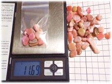 画像5: 10g ペルー産 ピンクオパール さざれ石 無選別 量り売り (5)