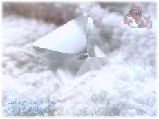 画像4: フローライト八面体 研磨済み No.3521 (4)