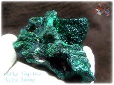 画像3: 460g超級 希少限定収蔵品 コンゴ産 ベルベット マラカイト 結晶標本 (別名:孔雀石 ビロードマラカイト Velvet Malachite 天鵞絨孔雀石 ) No.3552 (3)