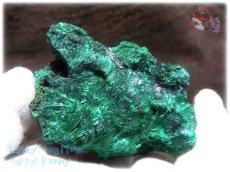 画像4: 460g超級 希少限定収蔵品 コンゴ産 ベルベット マラカイト 結晶標本 (別名:孔雀石 ビロードマラカイト Velvet Malachite 天鵞絨孔雀石 ) No.3552 (4)