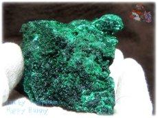 画像5: 460g超級 希少限定収蔵品 コンゴ産 ベルベット マラカイト 結晶標本 (別名:孔雀石 ビロードマラカイト Velvet Malachite 天鵞絨孔雀石 ) No.3552 (5)