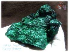 画像6: 460g超級 希少限定収蔵品 コンゴ産 ベルベット マラカイト 結晶標本 (別名:孔雀石 ビロードマラカイト Velvet Malachite 天鵞絨孔雀石 ) No.3552 (6)