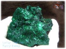 画像7: 460g超級 希少限定収蔵品 コンゴ産 ベルベット マラカイト 結晶標本 (別名:孔雀石 ビロードマラカイト Velvet Malachite 天鵞絨孔雀石 ) No.3552 (7)