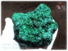 画像1: 610g超級 希少限定収蔵品 コンゴ産 ベルベット マラカイト 結晶標本 (別名:孔雀石 ビロードマラカイト Velvet Malachite 天鵞絨孔雀石 ) No.3553 (1)