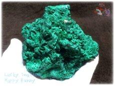 画像4: 610g超級 希少限定収蔵品 コンゴ産 ベルベット マラカイト 結晶標本 (別名:孔雀石 ビロードマラカイト Velvet Malachite 天鵞絨孔雀石 ) No.3553 (4)