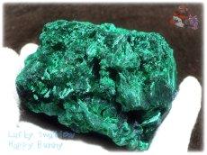 画像5: 610g超級 希少限定収蔵品 コンゴ産 ベルベット マラカイト 結晶標本 (別名:孔雀石 ビロードマラカイト Velvet Malachite 天鵞絨孔雀石 ) No.3553 (5)