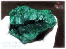 画像7: 610g超級 希少限定収蔵品 コンゴ産 ベルベット マラカイト 結晶標本 (別名:孔雀石 ビロードマラカイト Velvet Malachite 天鵞絨孔雀石 ) No.3553 (7)