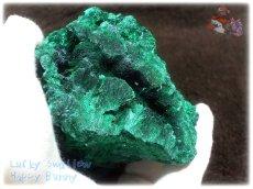 画像8: 610g超級 希少限定収蔵品 コンゴ産 ベルベット マラカイト 結晶標本 (別名:孔雀石 ビロードマラカイト Velvet Malachite 天鵞絨孔雀石 ) No.3553 (8)