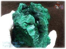 画像9: 610g超級 希少限定収蔵品 コンゴ産 ベルベット マラカイト 結晶標本 (別名:孔雀石 ビロードマラカイト Velvet Malachite 天鵞絨孔雀石 ) No.3553 (9)