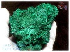 画像9: 巨大結晶 340g超級 希少限定収蔵品 コンゴ産 ベルベット マラカイト 結晶標本 (別名:孔雀石 ビロードマラカイト Velvet Malachite 天鵞絨孔雀石 ) No.3554 (9)