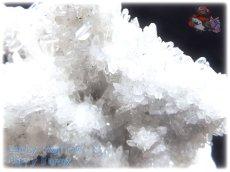 画像2: 約438g マダガスカル産 タイニークォーツ クラスター インテリア 結晶 (別名:クォーツ 水晶 石英 ) No.3557 (2)