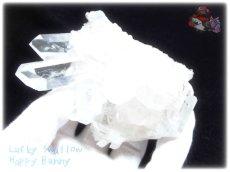 画像3: 約238g 水熱育成法 人工水晶 クォーツ クラスター インテリア 結晶 (別名:クォーツ 水晶 石英 ) No.3560 (3)
