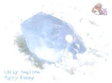 画像1: コレクション向け ファンシーファセットカット マダガスカル産 セレスタイト 天青石 celestite No.3584 (1)