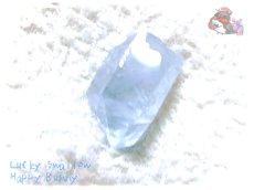 画像2: コレクション向け ファンシーファセットカット マダガスカル産 セレスタイト 天青石 celestite No.3584 (2)