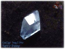 画像5: コレクション向け ファンシーファセットカット マダガスカル産 セレスタイト 天青石 celestite No.3588 (5)