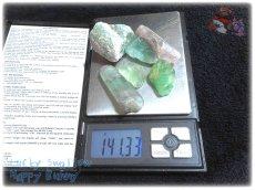 画像5: 蛍光反応 フローライト各種  蛍石 鑑別済み メニューにより八面体あり (5)