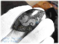 画像1: りすちゃんカービングルース ラブラドライト リス 栗鼠  No.3863 (1)