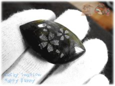 画像4: さくらカービングルース ラブラドライト サクラ 桜 チェリー  No.3867 (4)
