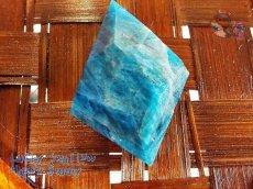 画像7: 工房謹製 ブルーアパタイト マダガスカル産♪No.2565♪ (7)