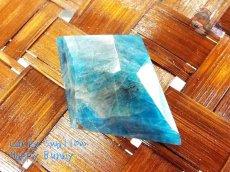 画像4: 工房謹製 ブルーアパタイト マダガスカル産♪No.2565♪ (4)