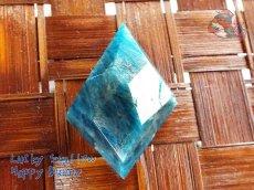 画像2: 工房謹製 ブルーアパタイト マダガスカル産♪No.2565♪ (2)