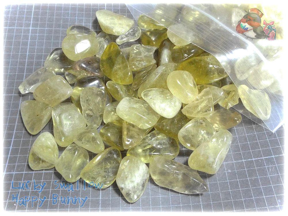 画像1: ブラジル産 シトリン 黄水晶 タンブル 50g量り売り (1)
