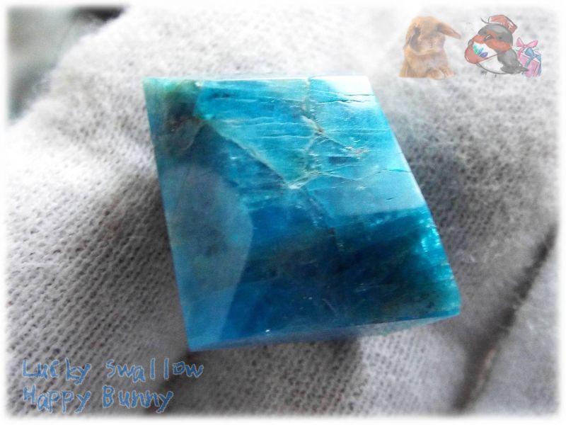 画像1: 海の宝石 コレクション向け ブルーアパタイト No.3882 (1)